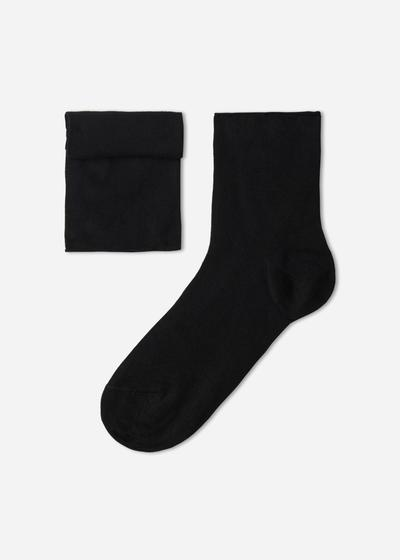 Casual Short Socks with Soft Cuff