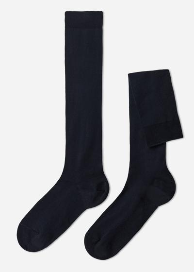 Long Stretch Cotton Socks