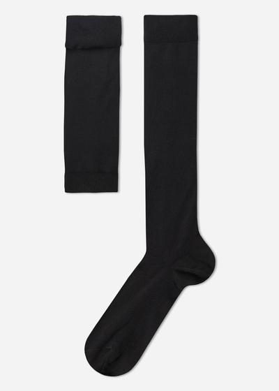 Tall  Stretch Cotton Socks