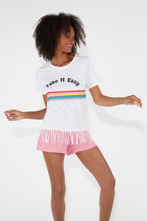 dbd3ec4f646b9e Krótka Piżama Take it Easy