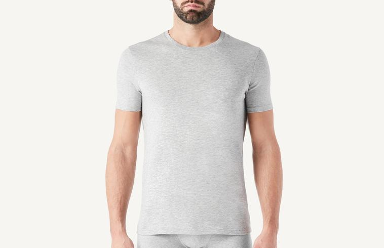 85172cd296f Short Sleeve Crew Neck T Shirt in Supima® Cotton