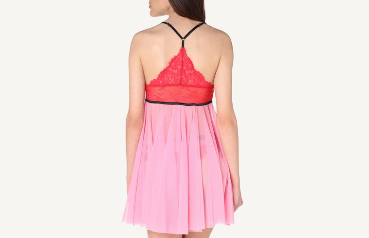 Babydoll in Pizzo e Tulle L Amour Fou 70d8130ab53d