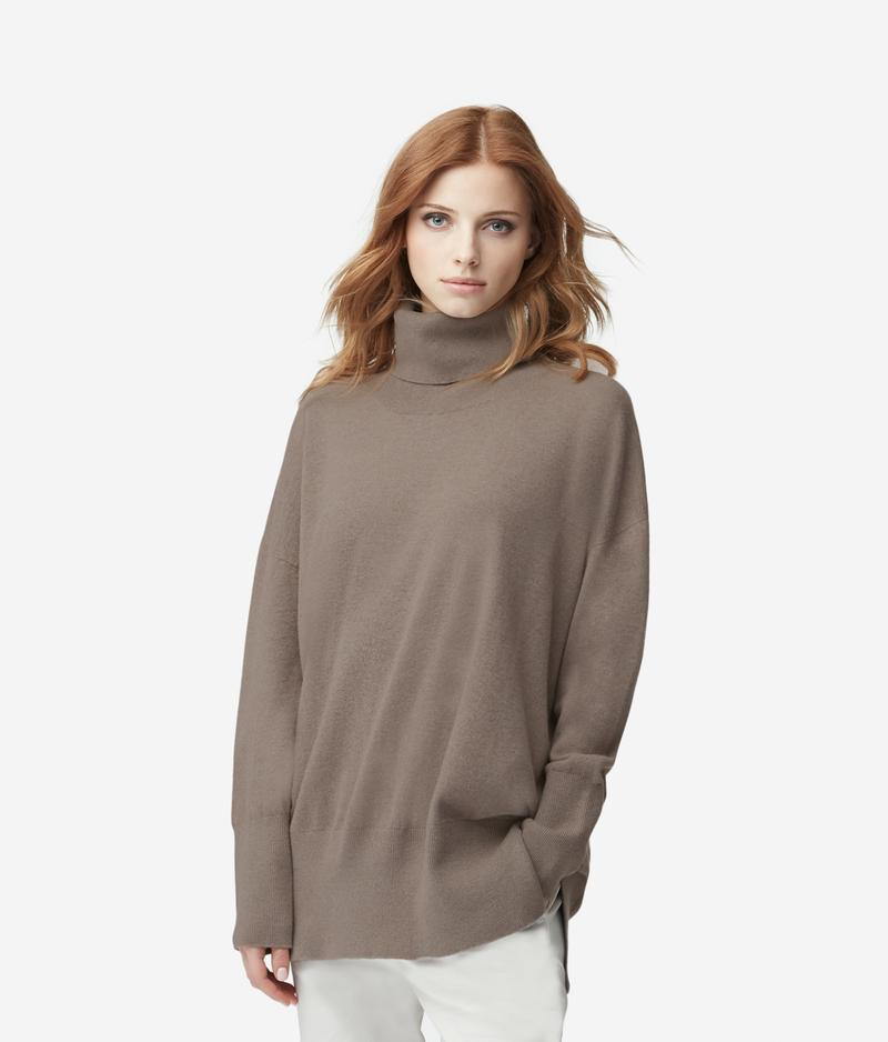 52c1d45d More colors available · Cashmere Stand Up Collar Sweater. Cashmere Stand Up Collar  Sweater
