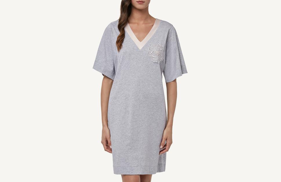 Chemise de Nuit en Supima Cotton® Extra-Fin