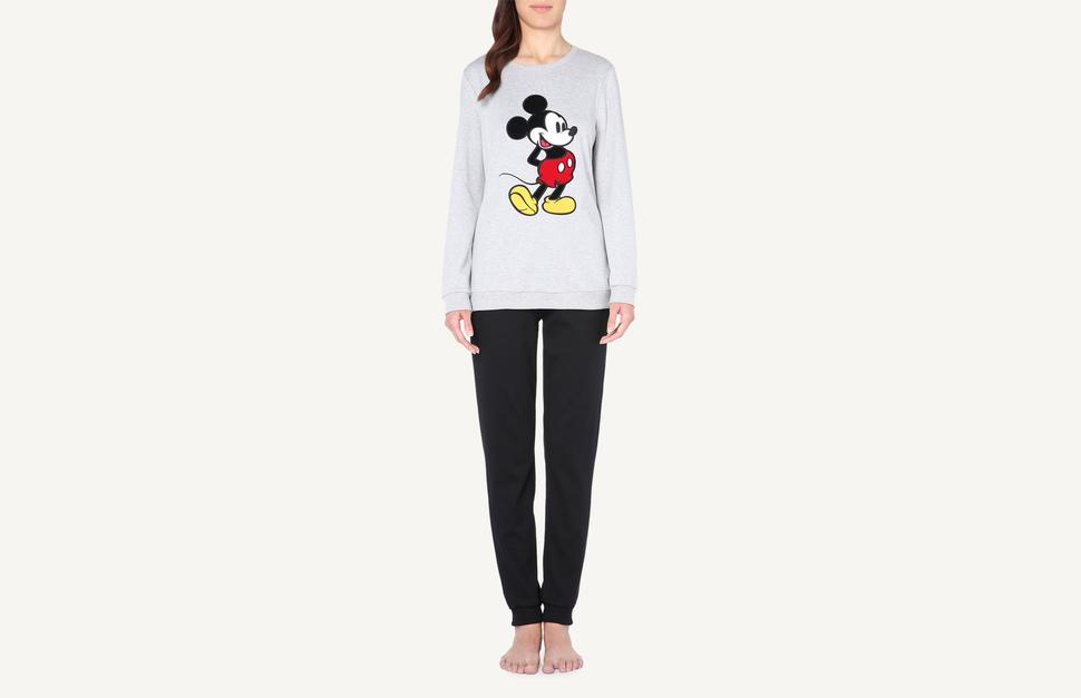 rivenditore all'ingrosso 79f72 aa961 Mickey Mouse Print Interlock Cotton Pyjamas - Intimissimi